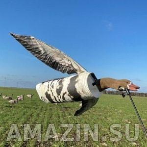 Ветровое чучело гуся