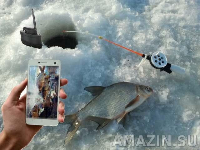 подводная камера для рыбалки для смартфона