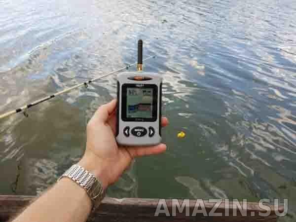 Лучший беспроводной эхолот для рыбалки Lucky FFW718